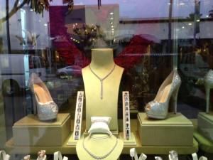 Crystal Heels Diamond shoes