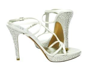 Stuart Weitzman Bridal Crystal Shoes