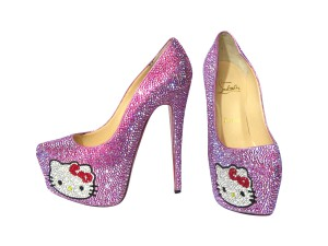 Hello Kitty Crystal Shoes