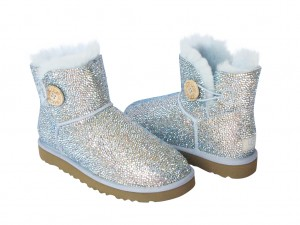 Crystal UGG booties