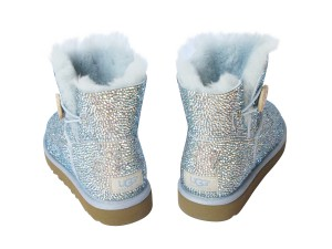 UGG boots with crystals