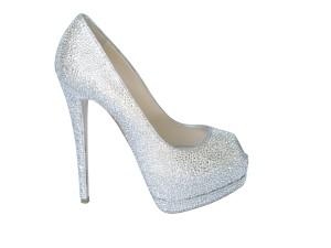 Diamond custom shoes