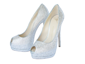 Diamond Pumps by Crystal Heels