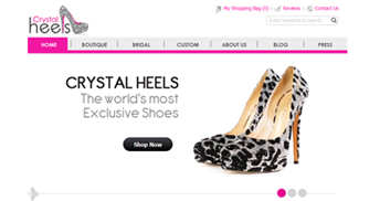 Newly Designed Crystal Heels Site Has Launched