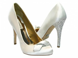 bridal shoes forever yours