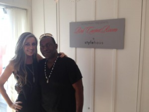 Randy Jackson at StyleHaus