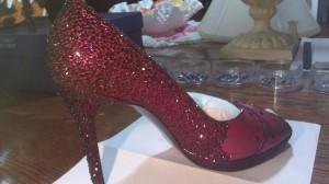 Stuart Weitzman Crystal Shoes